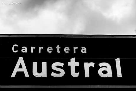 Famosa placa da Carretera Austral