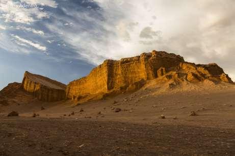 O Anfiteatro, no Vale da Lua