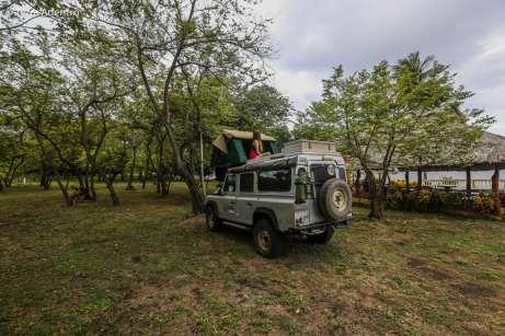Nosso acampamento na Ilha de Ometepe