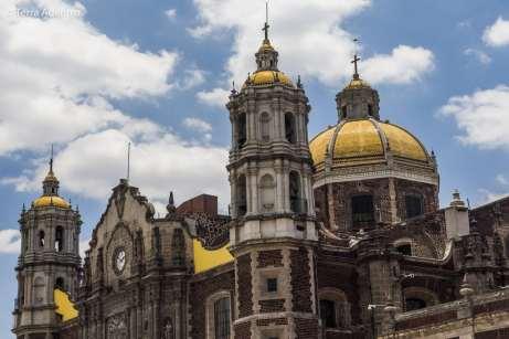 A antiga Basílica de Nossa Senhora de Guadalupe