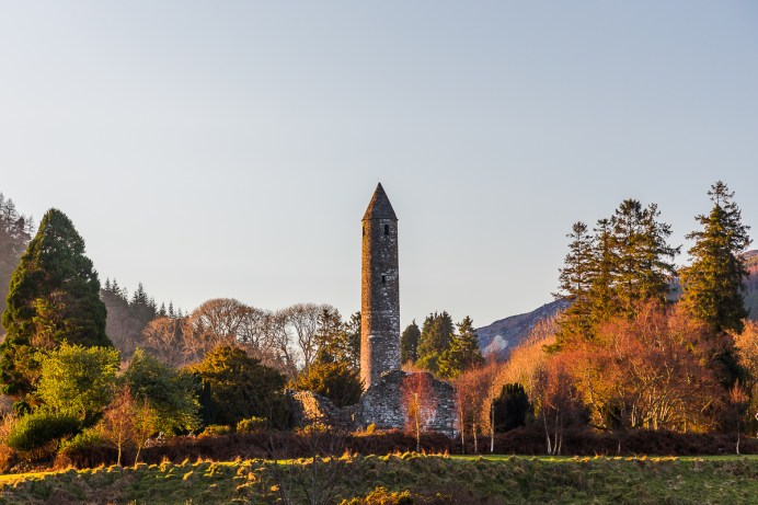 Ruínas de um antigo Monastério