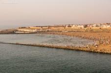 Região costeira de Rabat.