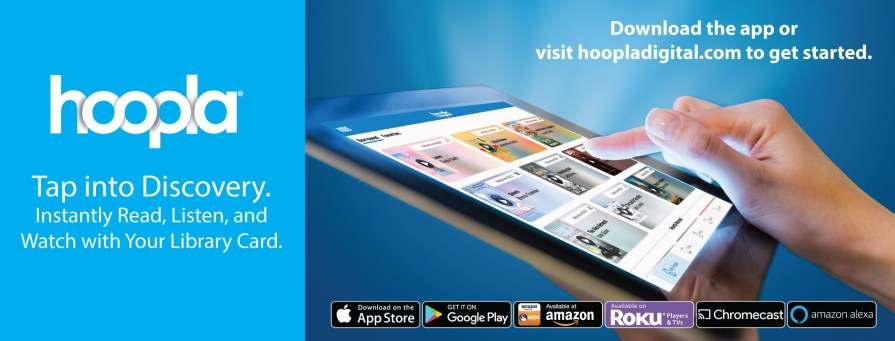 Tap into discovery. Instantly read, listen, and watch with your library card