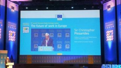 Photo of Fórum Econômico de Bruxelas: O futuro do trabalho por Christopher Pissarides