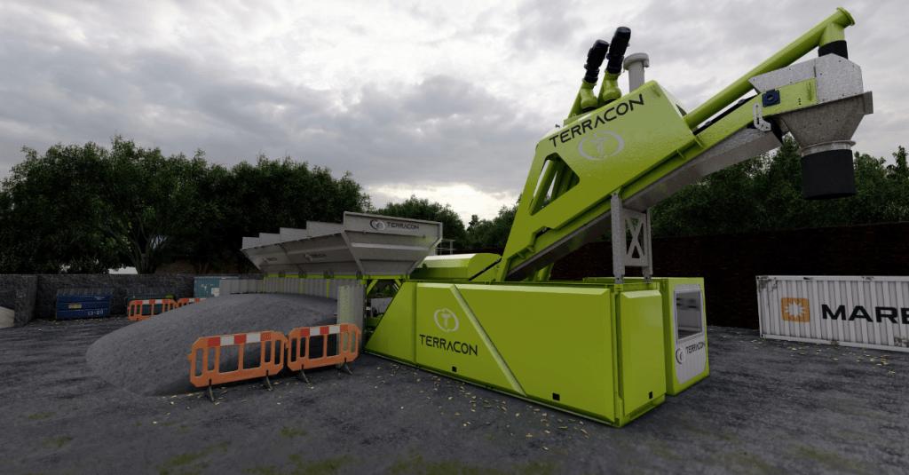 Terracon Concrete Technology Dry Concrete Batching Plant Ready Mix