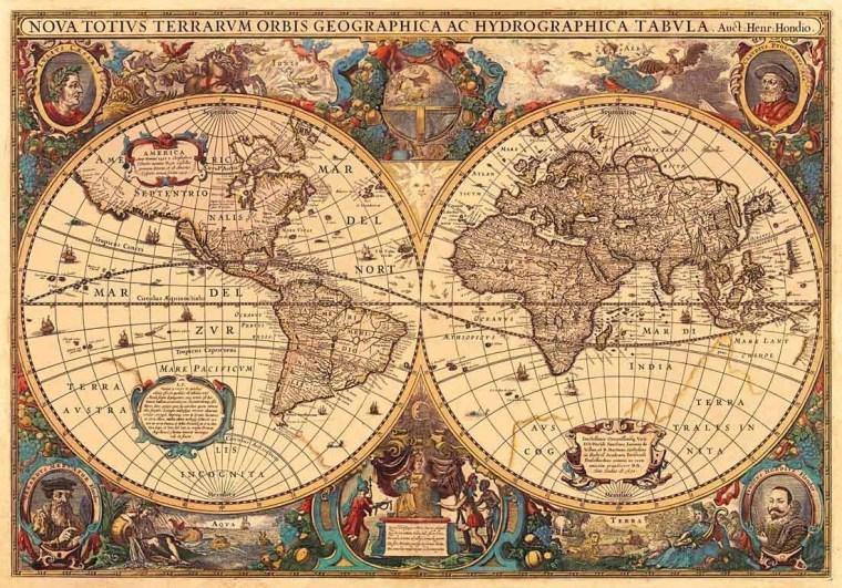 17411-antico-mappamondo-5000pz-dettaglio