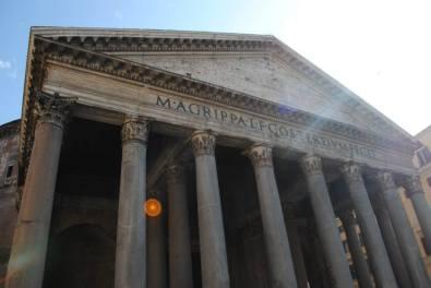 Pantheon, Roma.