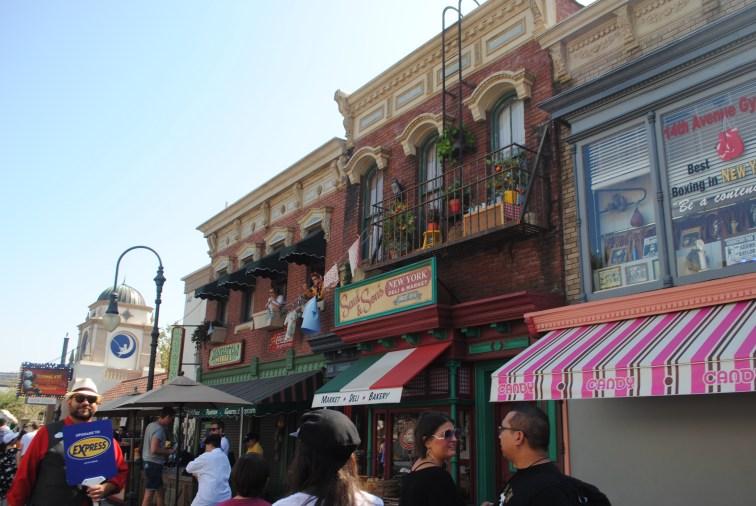 Scorcio degli Universal Studios