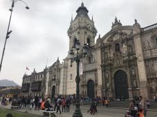 Piazza principale di Lima