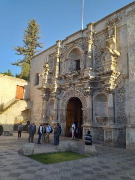 Facciata della Chiesa di San Agostino