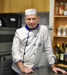 profesor de la escuela de hosteleria Escudella
