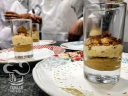 Receta de crema de café con mousse de tiramisú