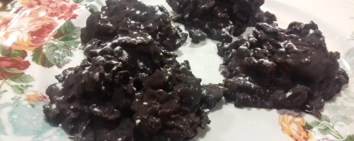 Receta de Galletas crocantes de chocolate