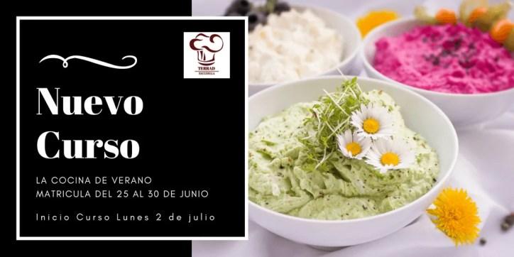 Cursos de cocina de verano en Barcelona