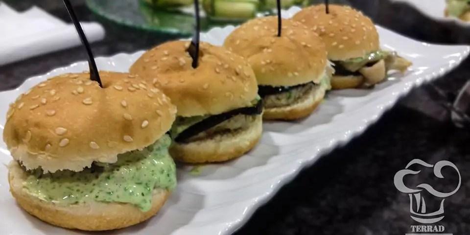 Receta de sandwich de lentejas y berenjena
