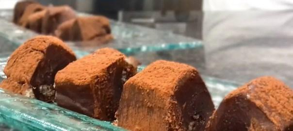 Receta de caramelo de chocolate negro