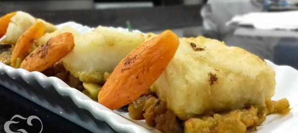 Receta de bacalao con sanfaina y miel