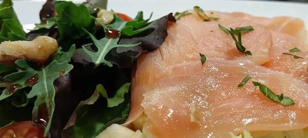 Receta de atadillo de salmon
