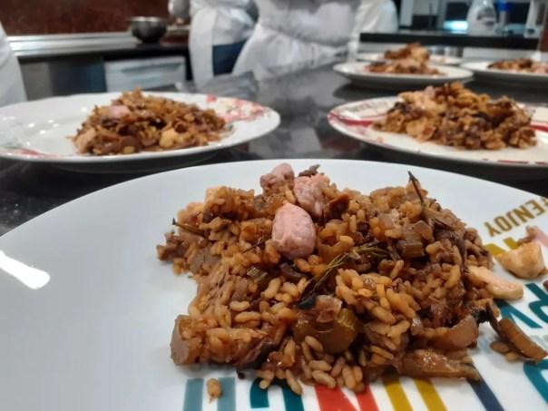 Receta de arroz con butifarra