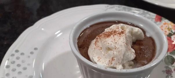 Receta de creme brulée de chocolate
