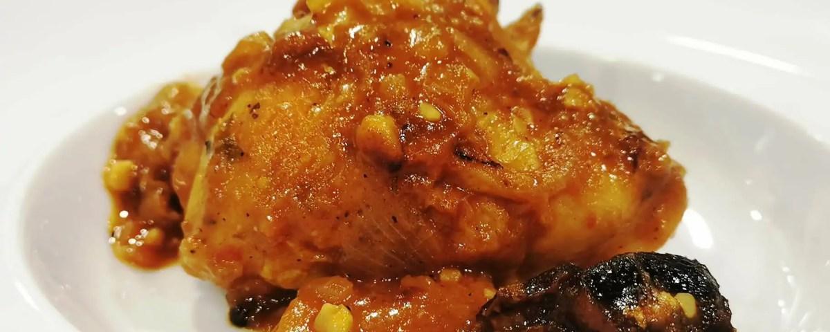 Receta de pollo a la catalana