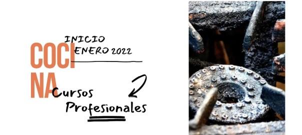 Nuevos cursos de cocina profesional en enero de 2022