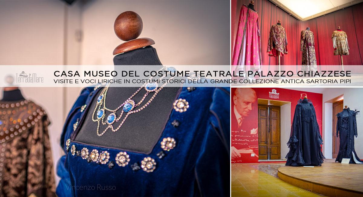 visite museo del costume teatrale palazzo chiazzese sartoria pipi - foto vincenzo russo terradamare palermo
