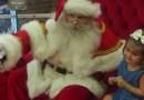 Papai Noel chega a shopping de Pouso Alegre
