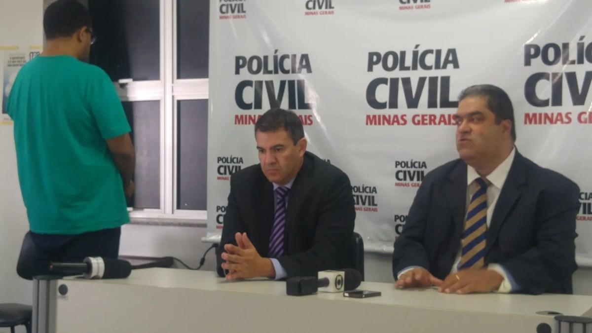 Polícia Civil apresenta colunista social Leandro.com, que responde a 10 inquéritos por estelionato