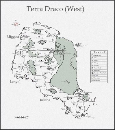 Terra Draco The West new gesula