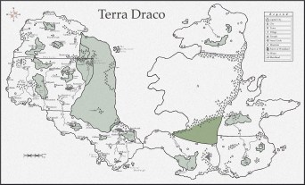 Terra Draco - Whole with scale