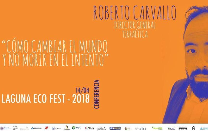 Conferencia en Laguna Eco Fest 2018