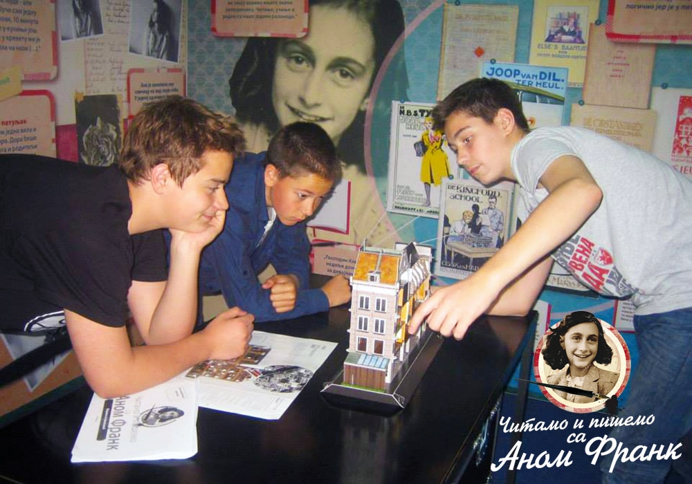 Reading and Writing with Anne Frank in Serbia