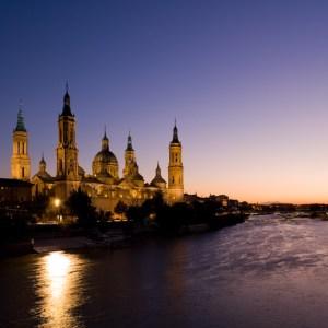 Basilica Nuestra señora del Pilar Zaragoza Aragon Spain