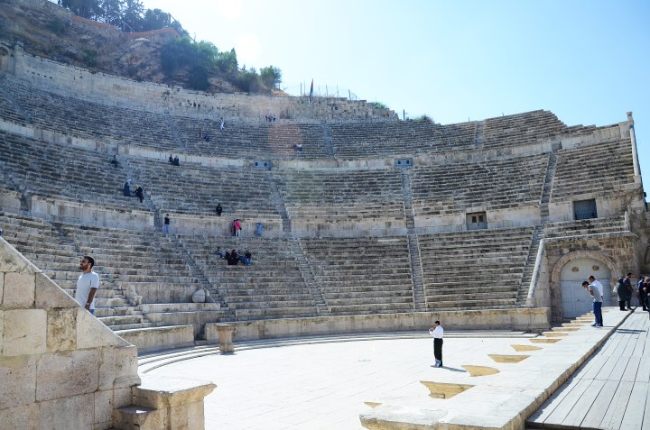 The Way Memories Feel & Amman's Roman Theatre