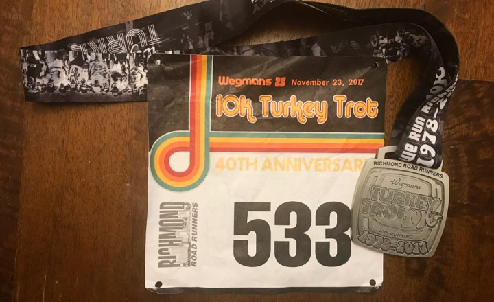 Running Richmond's Turkey Trot 10K