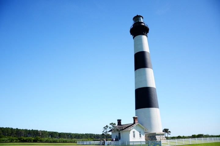 Exploring the Bodie Island Light Station at Cape Hatteras National Seashore