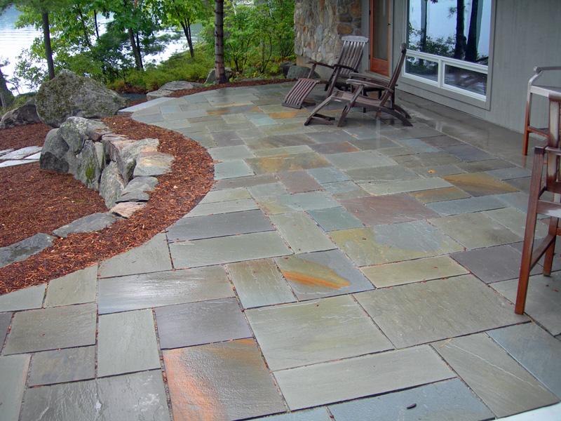 stone patio designers contractors
