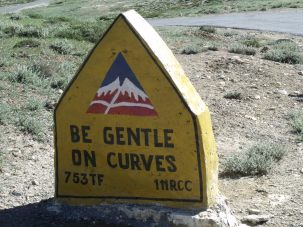be gentle on curves
