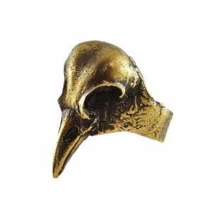 Anillo Cuervo Bronce