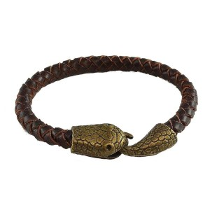 Snake Leather Bracelet