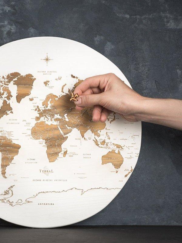 Mapamundi Medium Circular 3