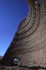 Vestiges d'une glacière à Merv, Turkménistan, patrimoine mondial de l'UNESCO