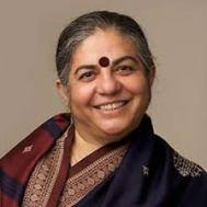 Dr. Vandana Shiva was the recipient of the 2011 Calgary Peace Prize. Source: ucalgary