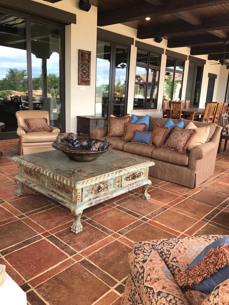 handmade mexican saltillo tile
