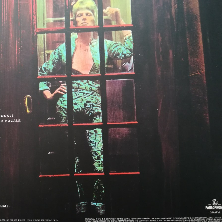 David Bowie-The Rise and the Fall of ZYGGY STARDUST and the Spiders from Mars