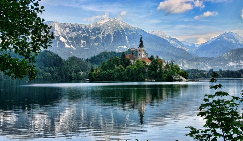 Lake Bled Slovenia Europe