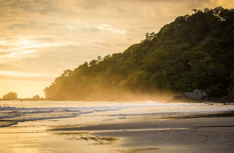 South Caribbean Coast of Costa Rica