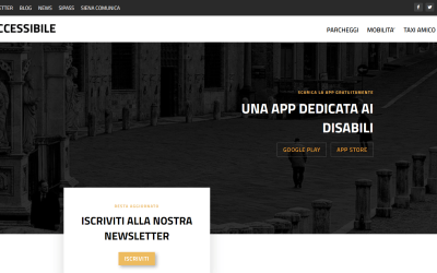Siena Accessibile, alla App si affianca un website