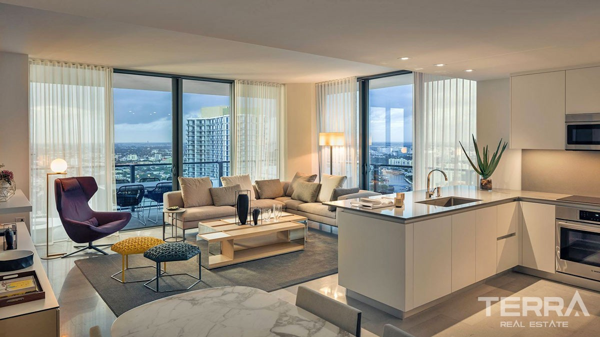 Luxury Apartments At Brickell City Centre In Miami For